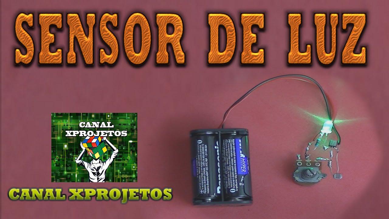 Como fazer sensor de luz youtube - Sensor de luz precio ...