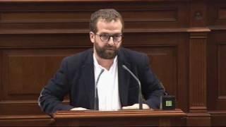 Juan Márquez (Podemos) sobre la Sanidad Penitenciaria en el Servicio Canario de Salud
