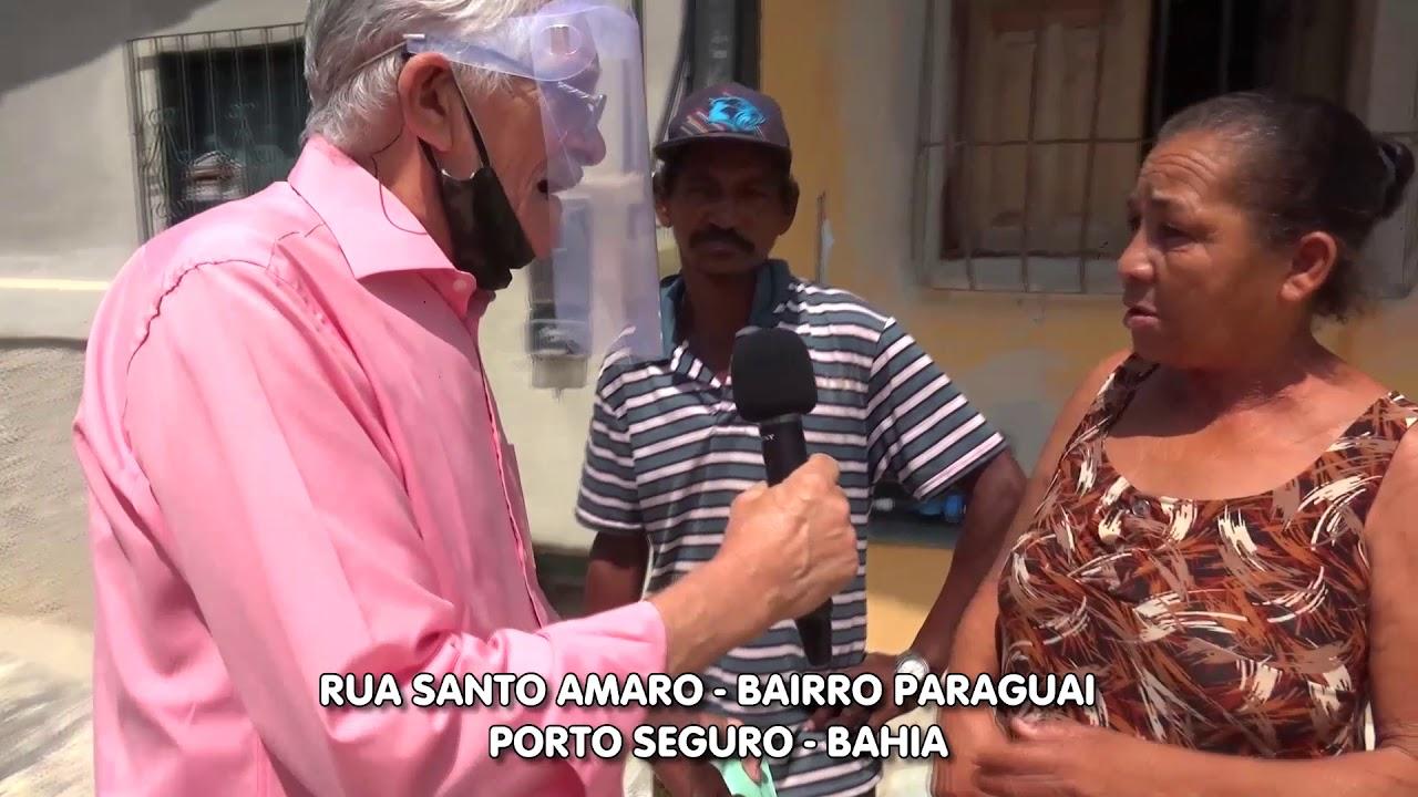 Povo abandonado. Bairro Paraguai - Porto Seguro-Bahia