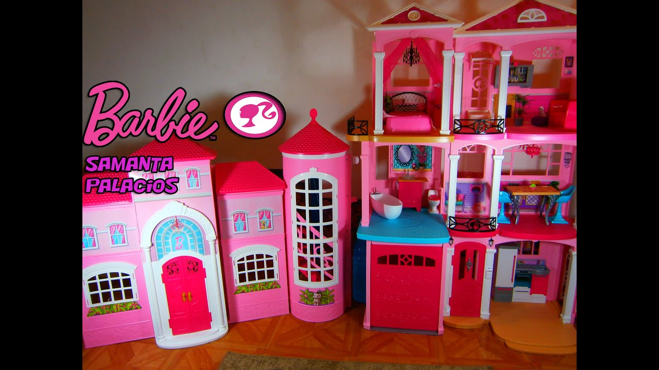 Casa de barbie dreamhouse 2015 desempaquetado y ensamble - Casa de barbie ...