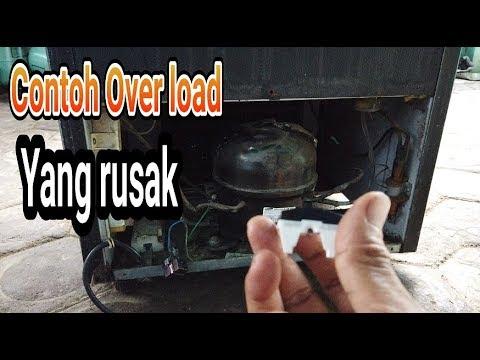 Ciri ciri overload kulkas rusak