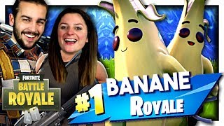 THE BANANA SKIN IS AWESOME! FORTNITE DUO EN