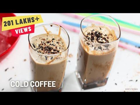 Cold Coffee Recipe In Hindi - How To Make Cold Coffee - Iced Coffee Recipe - Ep154
