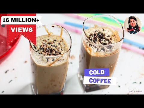 Cold Coffee Recipe In Hindi – How To Make Cold Coffee – Iced Coffee Recipe – Mintsrecipes -154