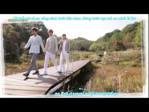 [vietsub+kara] EXO - Run (Korean Ver.)