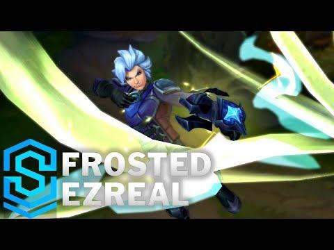 Frosted Ezreal (2018) Skin Spotlight - Pre-Release - League of Legends