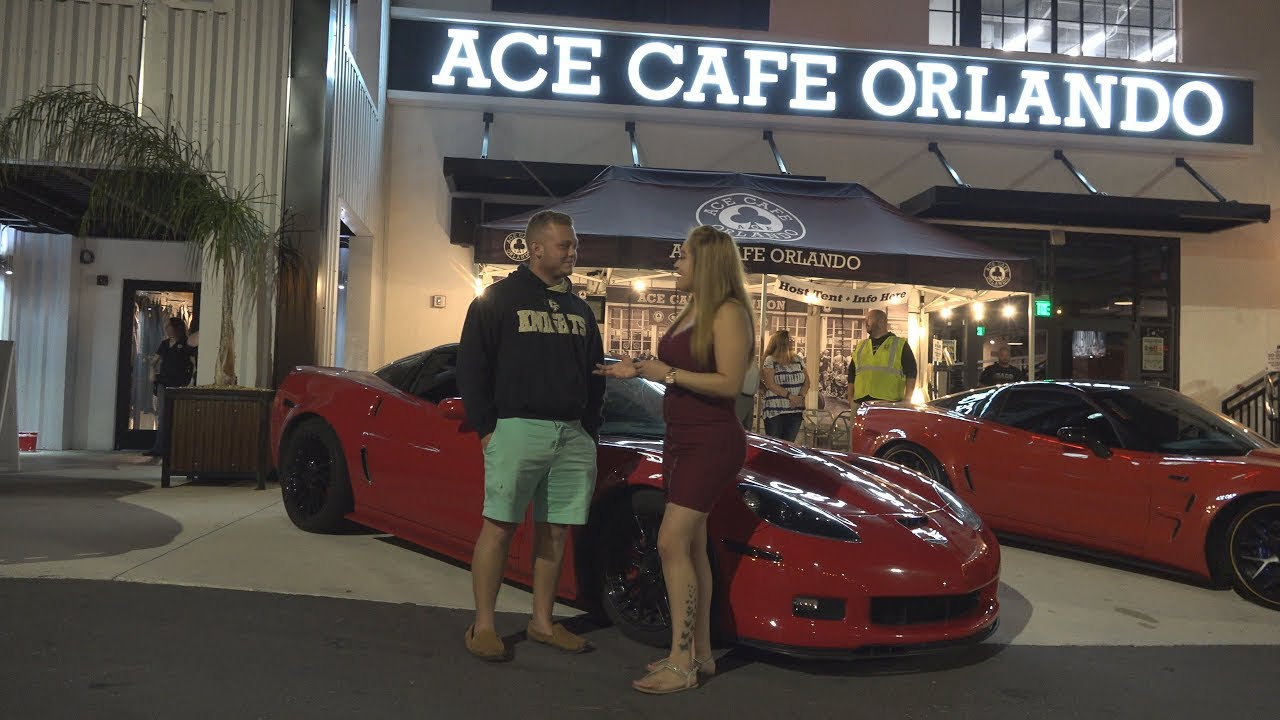 ACE Cafe HP Z Chevy Corvette Muscle Car Show In - Ace cafe orlando car show