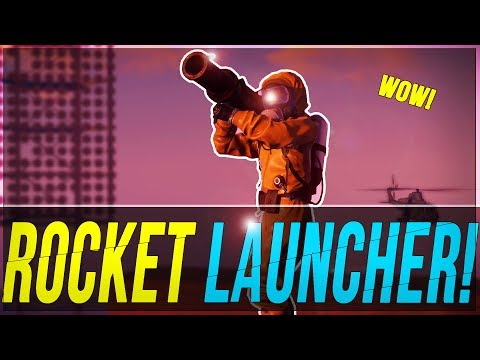 FASTEST way to get a ROCKET LAUNCHER?   Rust SOLO TIPS