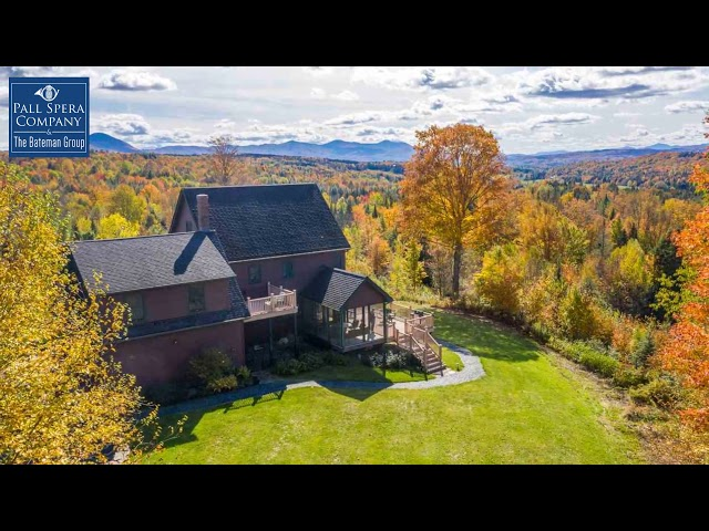 Vermont Fall Foliage Views | The Bateman Group Realtors