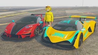 PROGEN EMERUS vs DEVESTE EIGHT - TEST DE VELOCIDAD - GTA V ONLINE