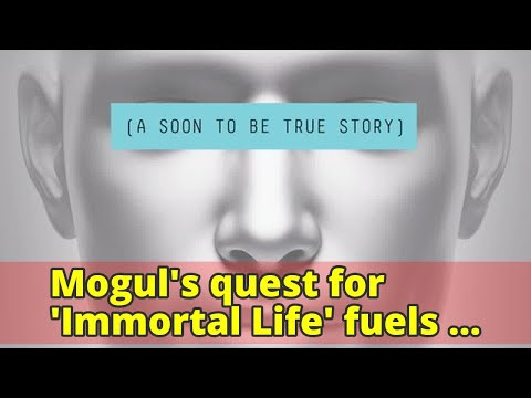 Mogul's quest for 'Immortal Life' fuels entertaining sci-fi tale