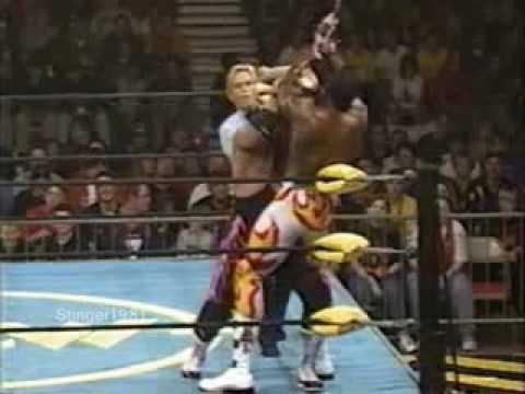 Booker T vs Bret Hart