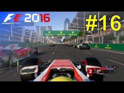 F1 2016 - Career Mode #16: European Grand Prix - 50% Race