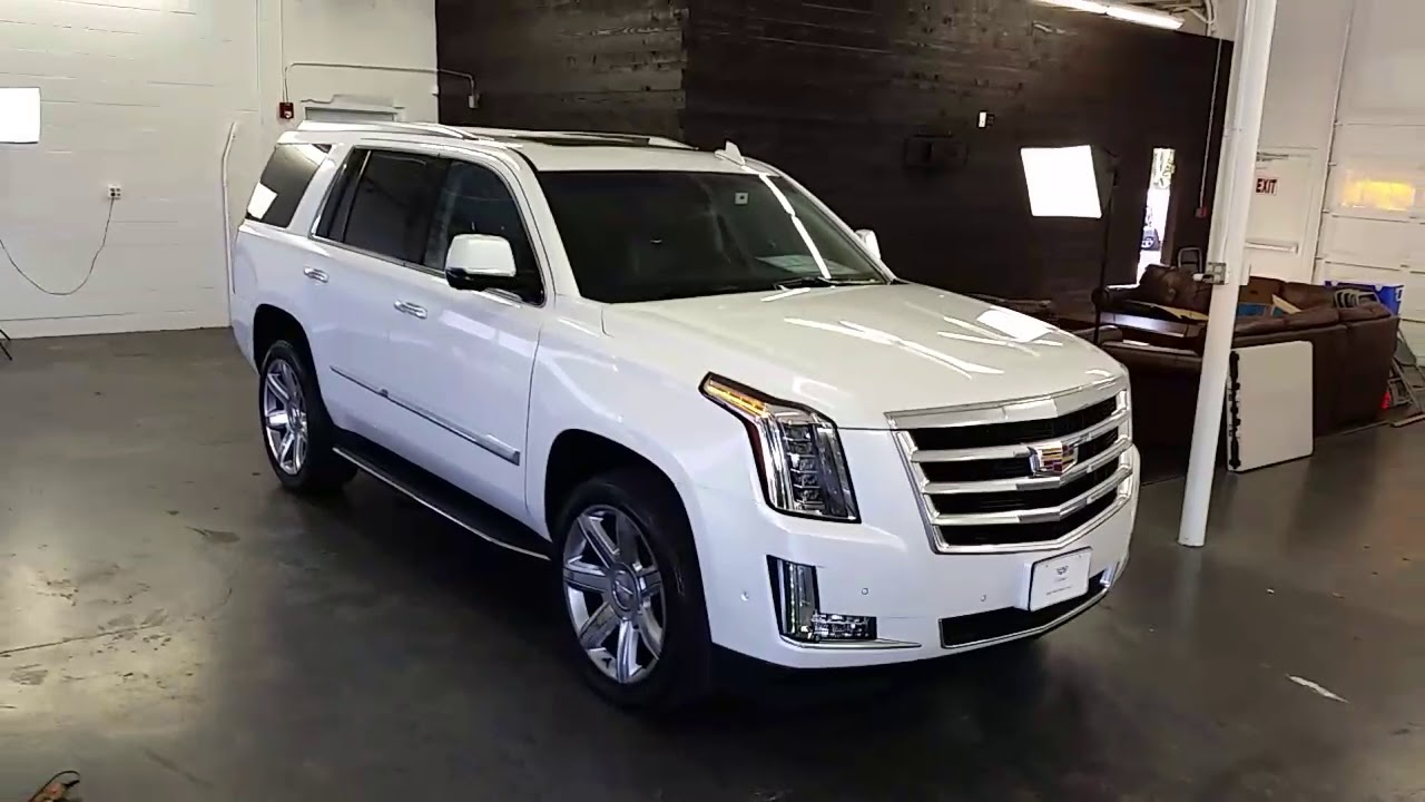 2018 cadillac escalade doug s northwest cadillac seattle bellevue 8269e youtube youtube