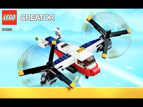 How To Build Lego Creator 31020 Instructions Youtube