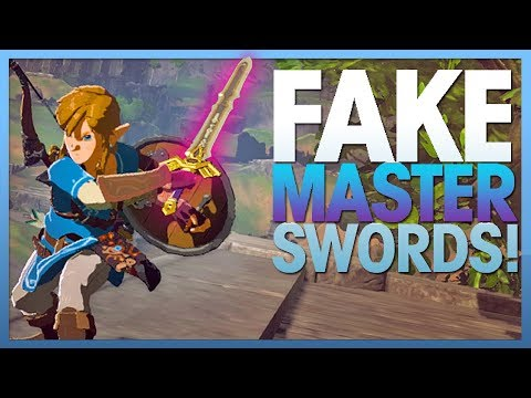 Breath of the Wild's Master Sword Clones (Link's Legacy) - Hyrule Highlights