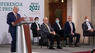 Compras consolidadas de medicamentos generan ahorros por 11 mil mdp. Conferencia presidente AMLO