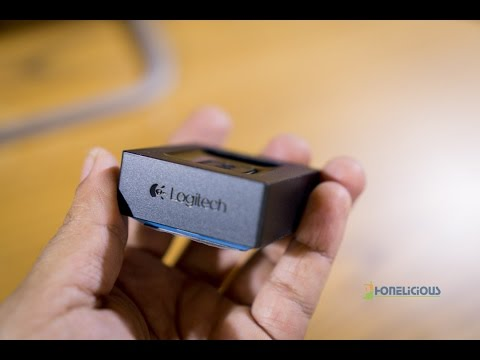 Unboxing and Setup of Logitech Bluetooth Audio Adapter