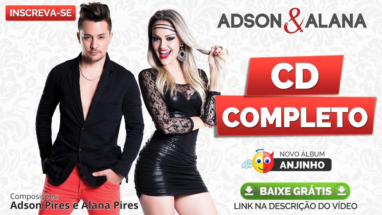 Adson E Alana Cd Completo Anjinho 2015 Lancamento Melhores