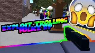 Roblox Exploiting #27 - EXPLOITING POLICE ROLE PLAY!