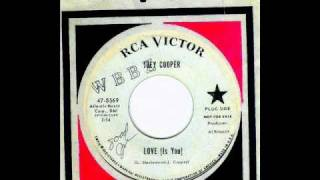 Joey Cooper - LOVE (Is You)  (1965)