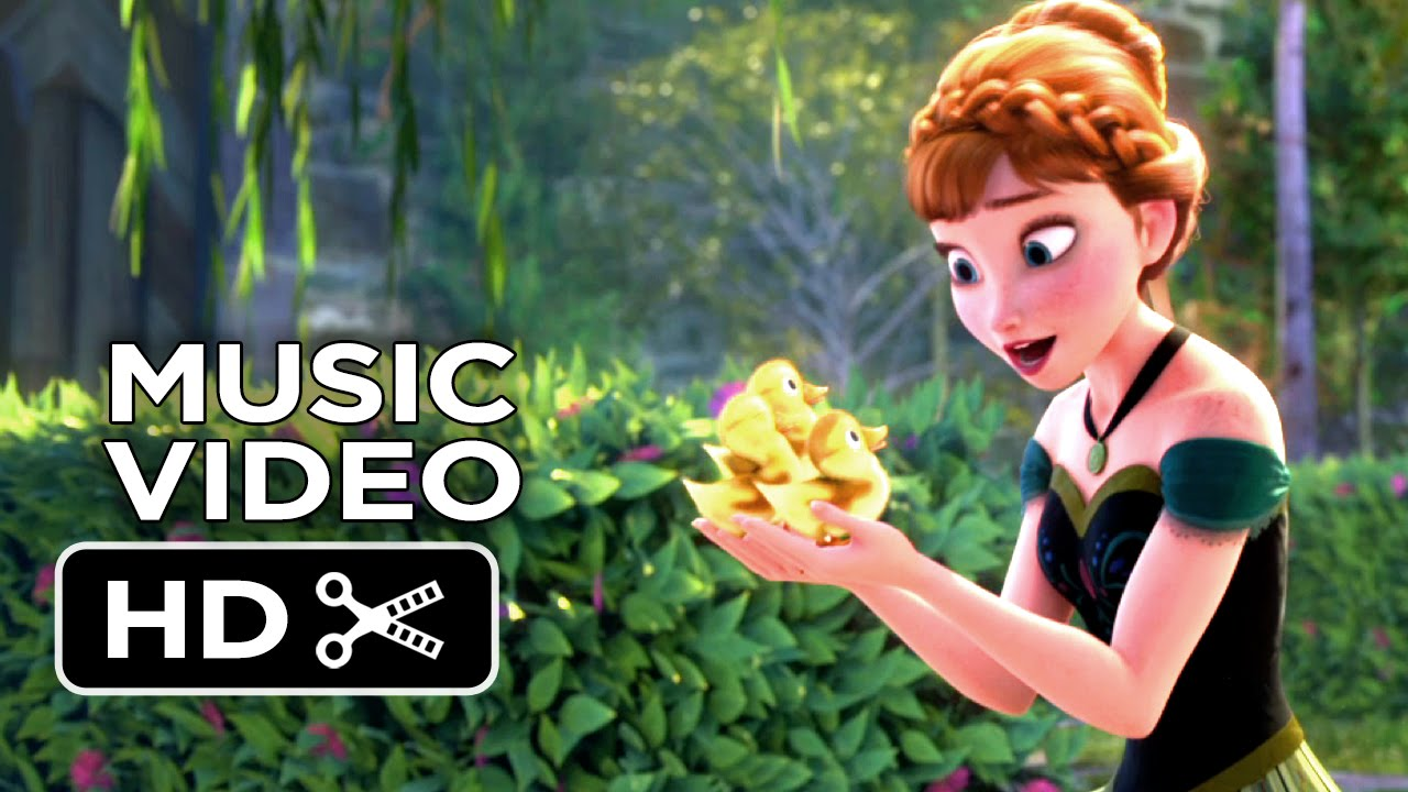 Frozen Music Video For The First Time In Forever Sing A Long 2013 Animated Disney Movie Hd Youtube