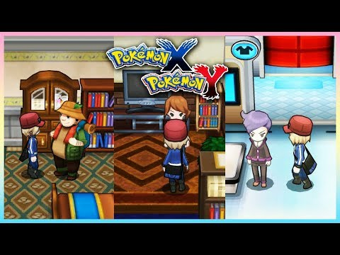 Pokemon X & Y - All In-Game Trades