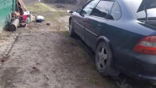 Замена пальца петли Opel vectra B