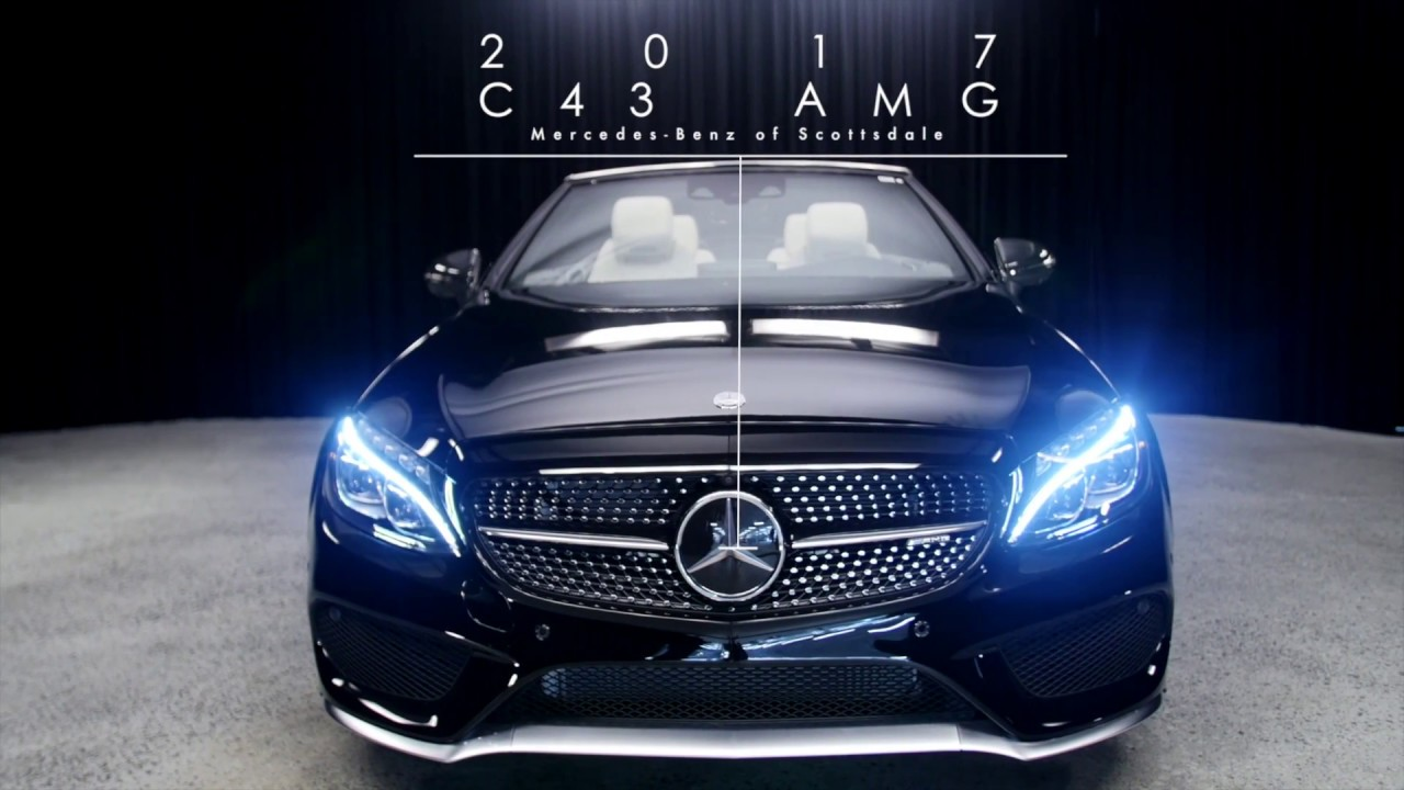 topless elegance 2017 amg c 43 mercedes benz c class from mercedes benz of scottsdale youtube. Black Bedroom Furniture Sets. Home Design Ideas
