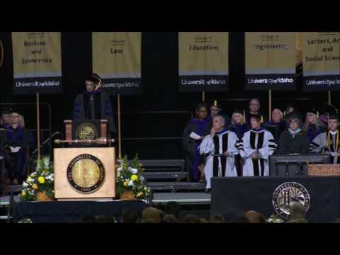 2016 University of Idaho College of Law Commencement