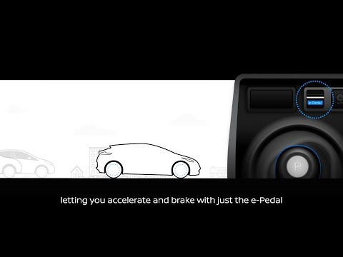 New Nissan LEAF with e-Pedal premieres September 6