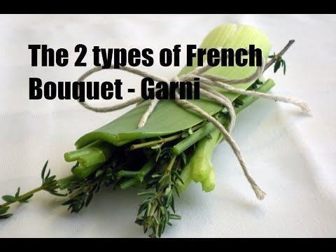 How To Make A Bouquet Garni | French Culinary Basics