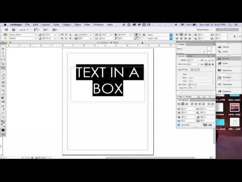 Adobe Indesign: Fill and Stroke