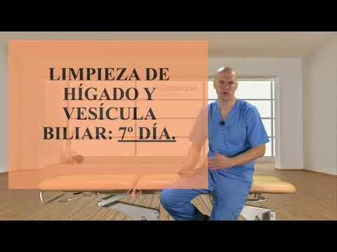 limpieza de hgado y vescula biliar. Fisioterapia Logroo