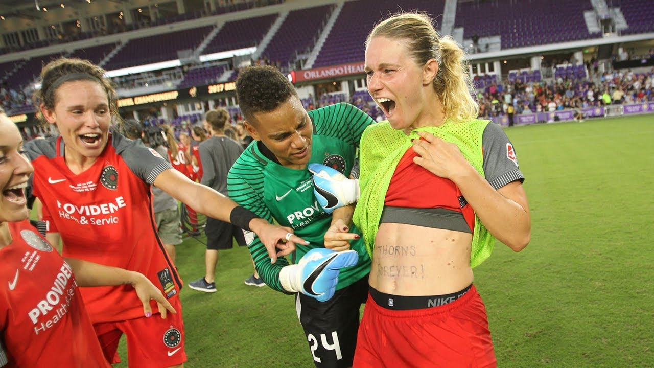 Amandine Henry On The Win 2017 Nwsl Championship Postgame Youtube