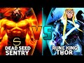 Rune King Thor Vs Death Seed Sentry ( Thor Vs Sentry Part 2) / Epic Vs battle in Hindi/ KOMICIAN