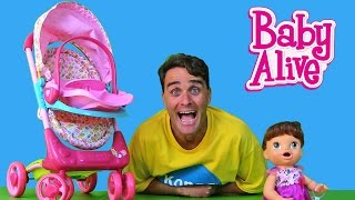 My New Baby Alive Stroller !     Toy Review    Konas2002