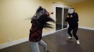 Pz4 Regina fighting skills #kickbump
