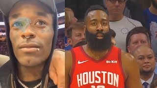 Lil Uzi Vert Betrays Sixers For James Harden & Gets Begged To Return To Music! Rockets vs Sixers