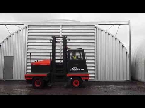 linde s50 sideloader used diesel forklift truck  www.trucksdirectuk.co.uk