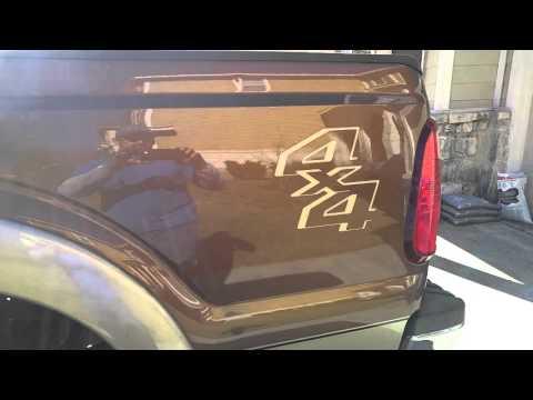 San Antonio Ford F250 Vandalism Dent Repair