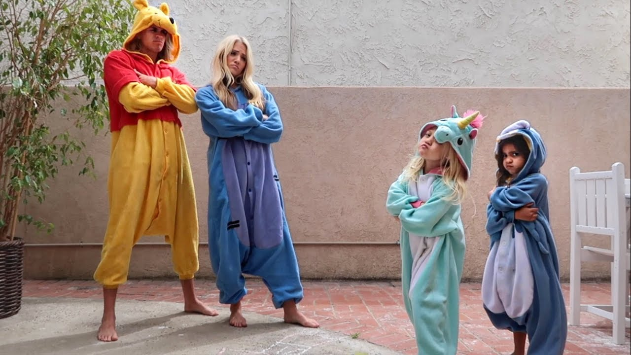 Ultimate Onesie Dance Battle Against 4 Year Olds Youtube