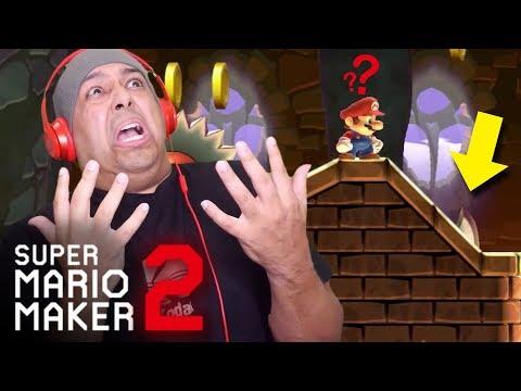 ¡NO PUEDO CREER QUE HICE ESTO! [SUPER MARIO MAKER 2] [# 31] + vídeo