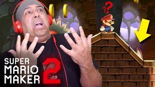 I CAN NOT BELIEVE I DID THIS!!! [SUPER MARIO MAKER 2] [#31]