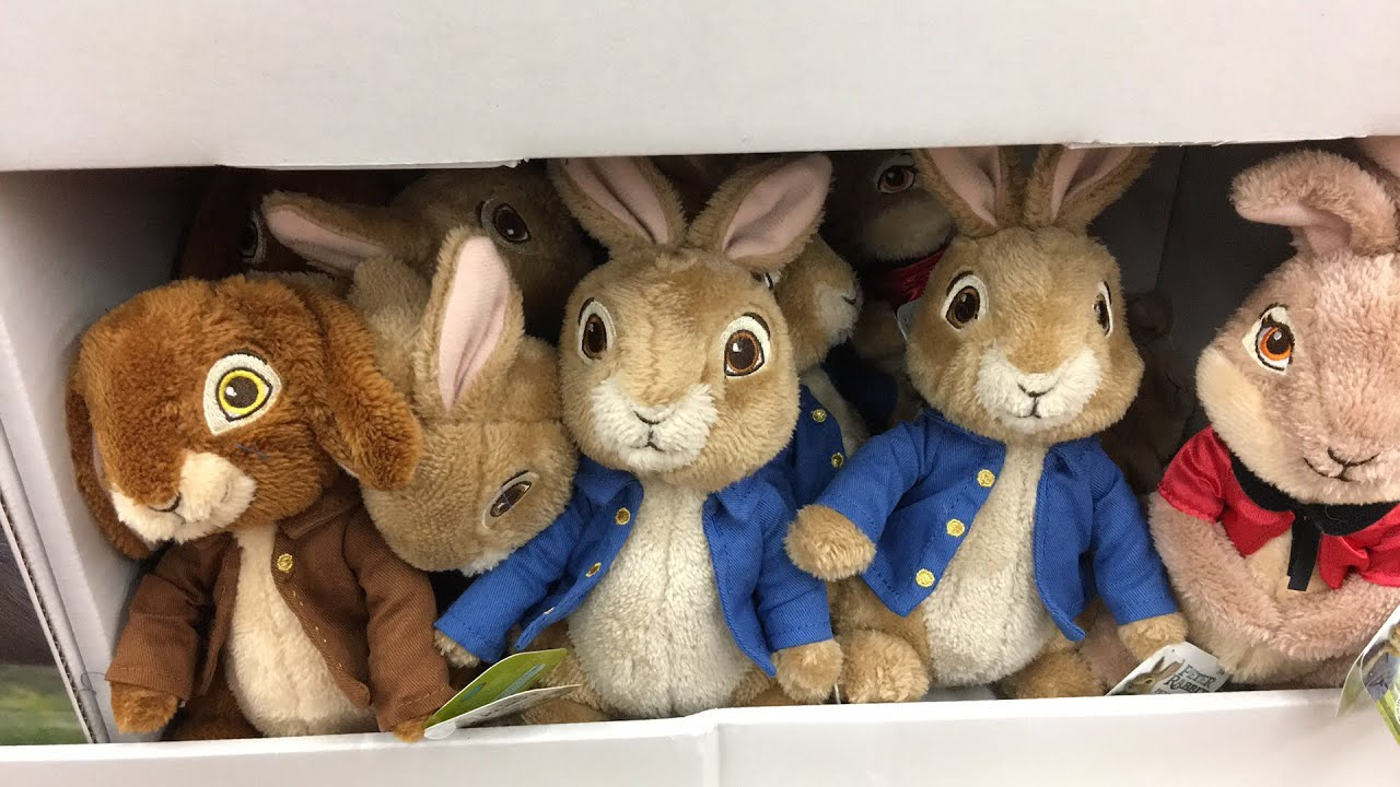 7a380a61af2d Peter Rabbit Movie Toys At Walmart 2018 - YouTube