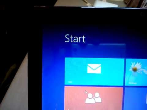 Resolution problem in Windows 8 on Netbook