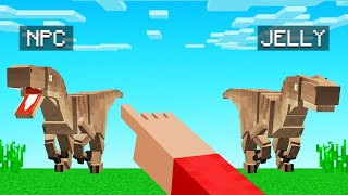 GUESS Which DINOSAUR Is The REAL JELLY! (Minecraft Guess Who)