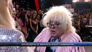 Showmatch 2012 - La Abuela aconsejó a todos los participantes de Bailando