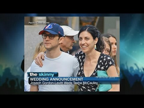 SKINNY: Actor Joseph-Gordon Levitt Weds Tasha McCauley