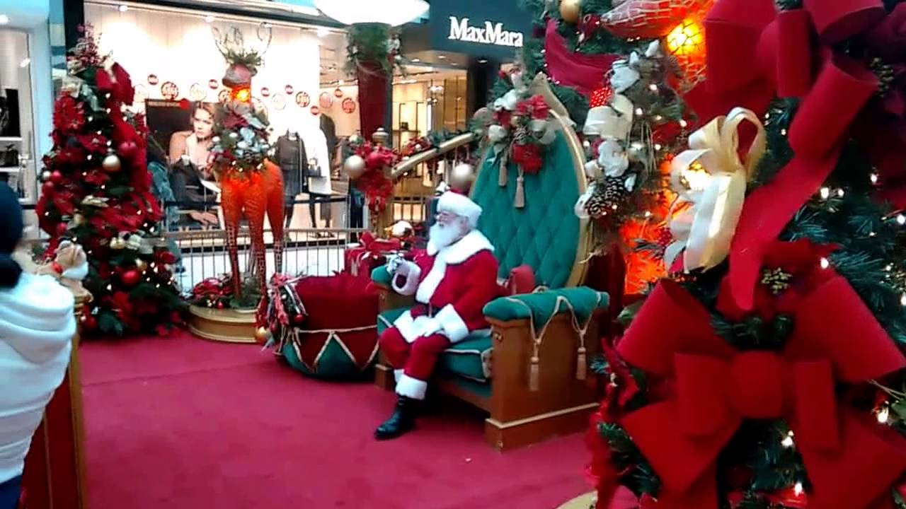 Visiting Santa Oakridge Mall November 2014 - YouTube